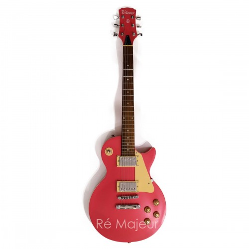 Electric Guitar Pink Les Paul