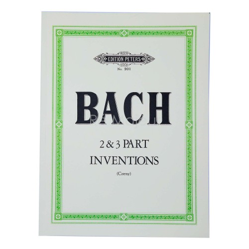 Bach Inventions Pt. 2&3