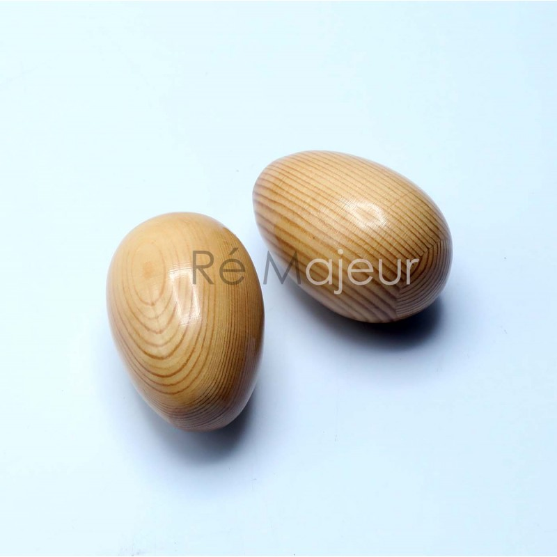 Wooden Egg Shaker (Percussion)