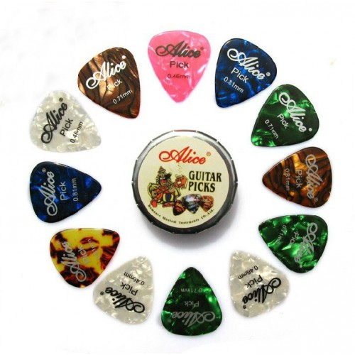Guitar Picks Alice Set (12 pcs)