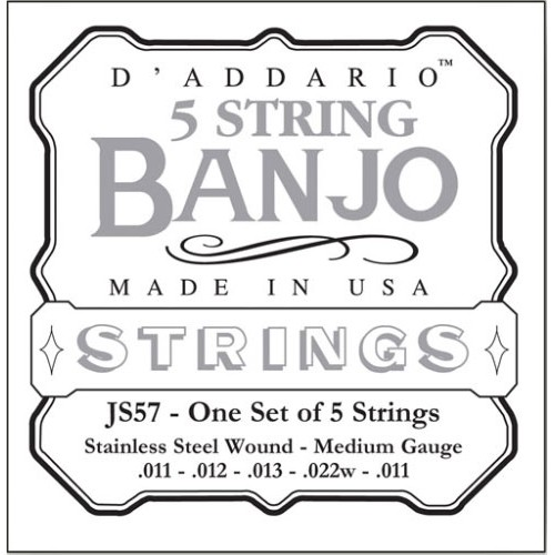 D'addario 5 Strings Set Banjo