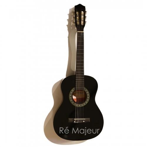 Jago Classic Guitar Black 4/4