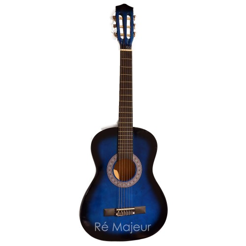 Jago Classic Guitar Blue 4/4