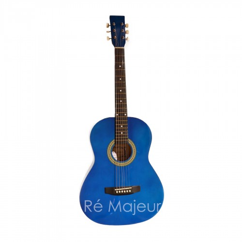Blackstar Acoustic Guitar Blue