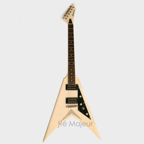 Blackstar Flying V Electric Guitar White